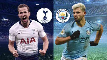 Laga Tottenham melawan Manchester City di perempatfinal Liga Champions - INDOSPORT