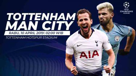 Prediksi Tottenham Hotspur vs Manchester City. - INDOSPORT