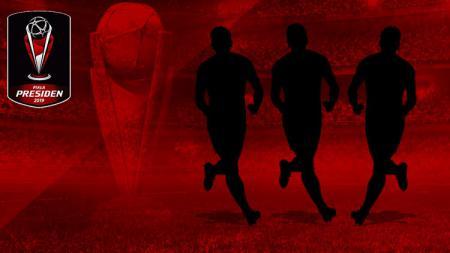 Ilustrasi tiga pemain langganan final Piala Presiden yang delalu gagal juara - INDOSPORT