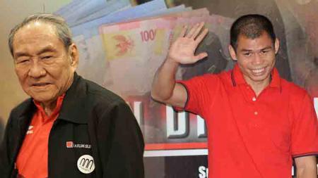 Michael Bambang Hartono dan Chris John terdaftar sebagai atlet terkaya di Indonesia. Dimas Ardian/Bloomberg via Getty Images/INDOSPORT - INDOSPORT
