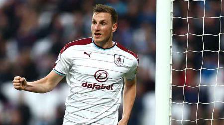Aksi selebrasi Chris Wood pada Piala FA melawan Barnsley di Turf Moor pada 05 Januari 2019. Jordan Mansfield/Getty Images - INDOSPORT