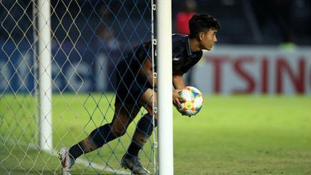 Suphanat Muenta mencetak gol ke gawang Beijing Guoan di ajang Liga Champions Asia, Selasa (09/04/19). - INDOSPORT