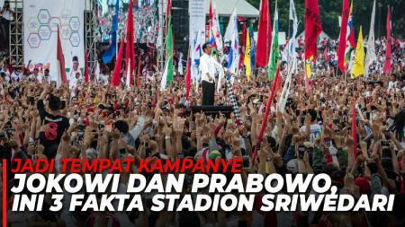 Stadion Sriwedari jadi venue kampanye Jokowi dan Prabowo. - INDOSPORT