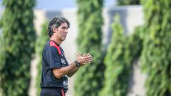 Pelatih klub Liga 1, Bali United, Stefano Cugurra Teco.