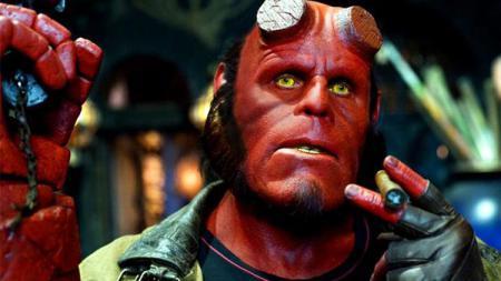 Karakter film Hellboy. - INDOSPORT