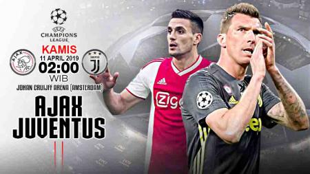 Pertandingan Ajax vs Juventus. - INDOSPORT