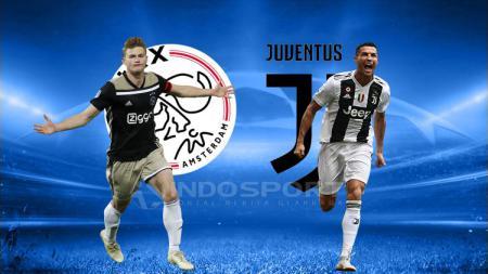 Pertandingan Liga Champions Ajax vs Juventus(4/10/2019). - INDOSPORT