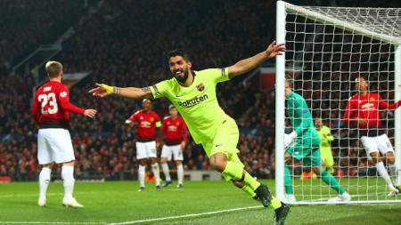 Termasuk Luis Suarez, berikut tiga penyerang terbaik klub LaLiga Spanyo, Barcelona, versi Squawka. - INDOSPORT