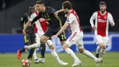 Indosport - Jalannya pertandingan antara Ajax vs Juventus di leg pertama babak perempatfinal Liga Champions 2018/19.