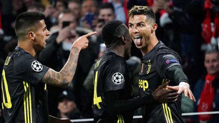 Cristiano Ronaldo menjadi pemain tercepat di Serie A Italia musim ini. Koji Watanabe/Getty Images. - INDOSPORT