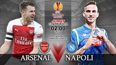 Pertandingan Arsenal vs Napoli. - INDOSPORT