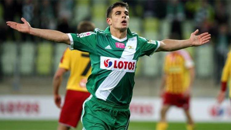Eks striker Timnas Polandia U-21, Piotr Grzelczak. Foto: superelja/gol24 Copyright: superelja/gol24