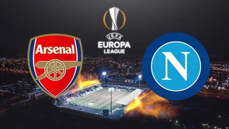 Ilustrasi logo Arsenal vs Napoli di Liga Europa 2018/2019. - INDOSPORT