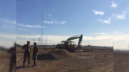 Sejak pelatakan batu pertama oleh Gubenur DKI Jakarta, Anies Baswedan pada Maret 2019 lalu, sudah sejauh mana pembangunan Stadion BMW? - INDOSPORT