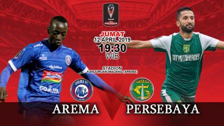 Prediksi pertandingan Arema FC vs Persebaya. - INDOSPORT