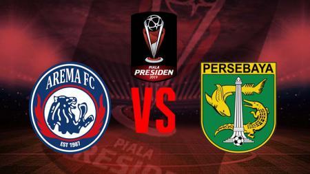 Logo pertandingan Arema Fc vs Persebaya. - INDOSPORT