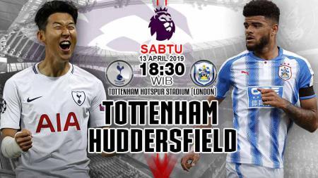 Prediksi pertandingan liga primer inggris Tottenham Hotspur vs Huudersfield. - INDOSPORT