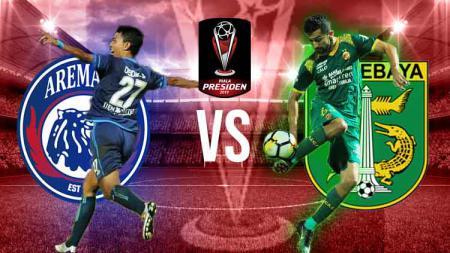 Pertandingan Final Piala Presiden Arema Fc vs Persebaya. - INDOSPORT