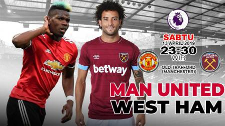 Prediksi Pertandingan Manchester United vs West Ham. - INDOSPORT