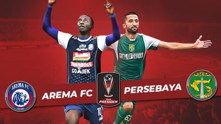 Final Piala Presiden 2019 antara Arema FC vs Persebaya Surabaya. - INDOSPORT