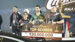 Indosport - Manu Dzhalilov menjadi top skor Piala Presiden 2019. Herry Ibrahim/INDOSPORT