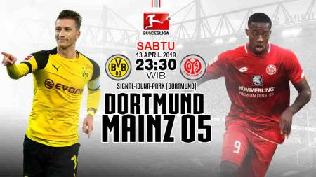 Pertandingan Dortmund vs Mainz. - INDOSPORT