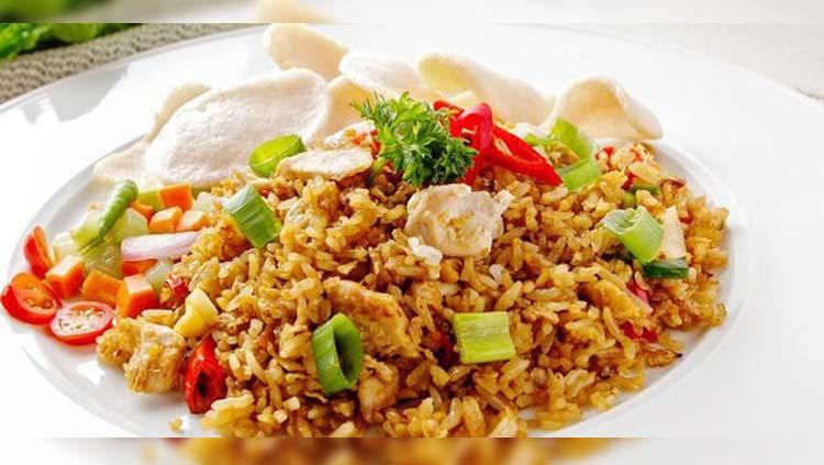 Nasi Goreng kampung dengan rasa yang sangat khasnya. Copyright: Dream
