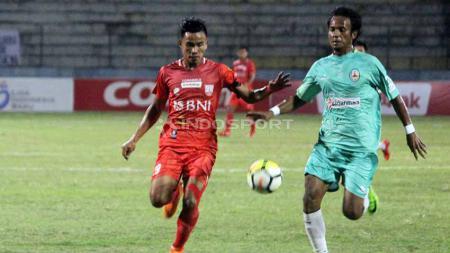 Pemain jebolan binaan Persib Bandung, Rudiyana mengaku senang dan bangga bisa memperkuat Sriwijaya FC untuk menghadapi kompetisi Liga 2 2020. - INDOSPORT