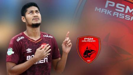 Pemain PSM Makassar, Abdul Rahman Sulaeman. Foto: Instagram.com/abdrahman28sidrap - INDOSPORT