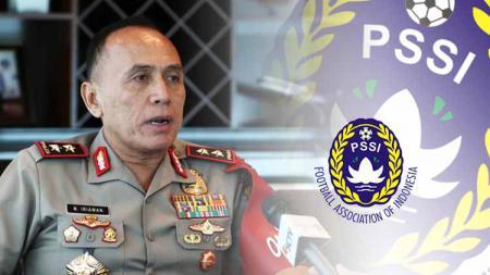 Kapolda Metro Jaya Irjen. Pol. Drs. Mochamad Iriawan menyatakan siap jika ditunjuk sebagai ketua umum PSSI. - INDOSPORT