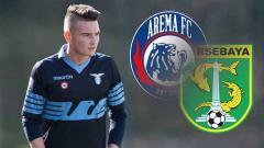 Indosport - Pemain incaran Arema FC dan Persebaya, Mika Rokavec. Foto: instagram.com/mikarokavec