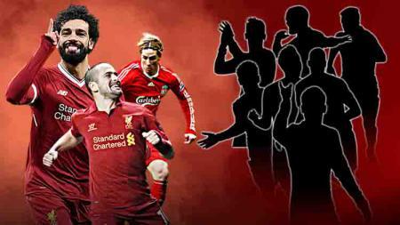 10 Pemain yang pernah perkuat Liverpool dan Chelsea. Grafis:Yanto/Indosport.com - INDOSPORT