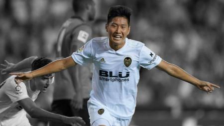 Profil pemain muda klub sepak bola Valencia, Lee Kang-in, yang di ambang membawa Korea Selatan (Korsel) juara Piala Dunia U-20 2019 di Polandia. - INDOSPORT