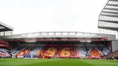Indosport - Minute of Silence mengenang tragedi Hillsborough sebelum laga Liverpool vs Chelsea.