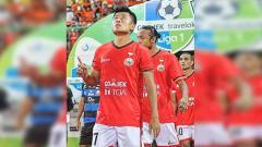 Indosport - Mantan pemain Persija Jakarta (2017-2019) Jefri Kurniawan.