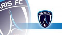 Indosport - Logo Paris FC. Grafis:Tim/Indosport.com