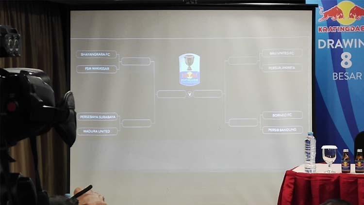 Drawing Piala Indonesia Kratingdaeng. Foto: Ary Kristianto Copyright: Ary Kristianto