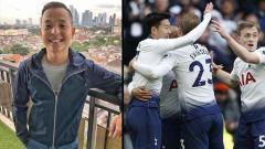 Indosport - Komika papan atas Indonesia, Ernest Prakasa (kiri) mengidolakan klub Liga Primer Inggris, Tottenham Hotspur.