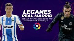 Indosport - Prediksi Leganes vs Real Madrid.