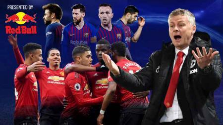 Manchester United bakal melakoni laga berat saat jumpa Barcelona pada leg kedua perempatfinal Liga Champions di Stadion Camp Nou, Rabu (17/04/19) dini hari WIB. - INDOSPORT