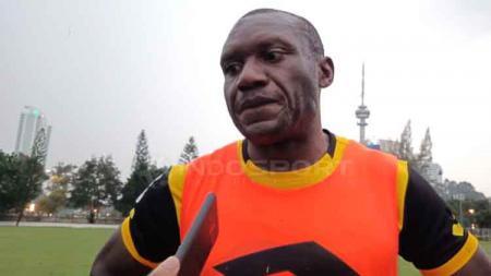 Herman Dzumafo, eks striker Bhayangkara FC - INDOSPORT