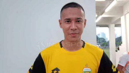 Indra Kahfi Ardhiyasa, bek Bhayangkara FC. - INDOSPORT
