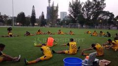 Indosport - Latihan para Pemain Bhayangkara FC.