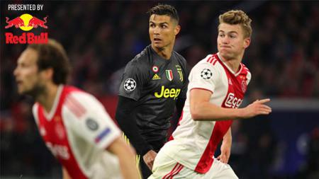 Cristiano Ronaldo saat laga leg pertama perempatfinal Liga Champions Ajax vs Juventus, Rabu (10/04/19). - INDOSPORT