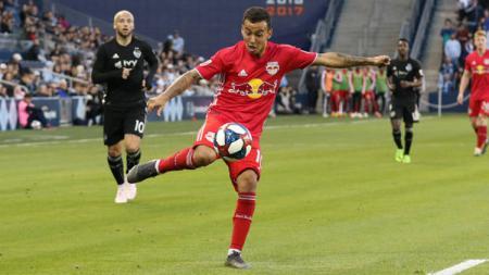Alejandro Romero Gamarra, pemain New York Red Bull. - INDOSPORT