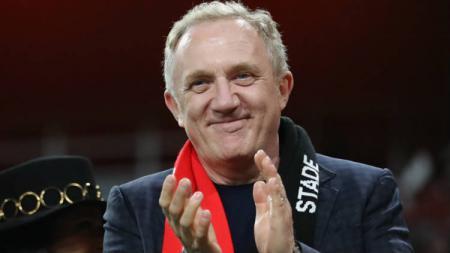 François-Henri Pinault, pemilik klub Ligue 1 Stade Rennais. - INDOSPORT