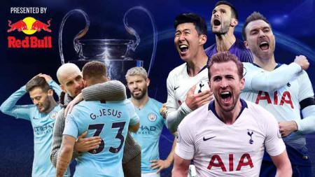 Kutukan derby Inggris di Liga Champions untuk Manchester City. - INDOSPORT
