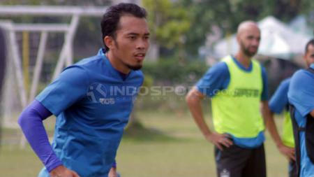 Gelandang PSIS Semarang, M Yunus. - INDOSPORT