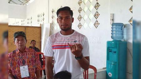 Mantan bek Persib Bandung, Saepulloh Maulana, yang kini berseragam Badak Lampung FC, Rabu (17/4/19) - INDOSPORT