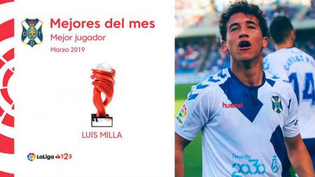 Anak Luis Milla dinobatkan sebagai pemain terbaik di Liga Spanyol untuk bulan Maret. - INDOSPORT